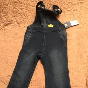 Girls 3T overalls NWT